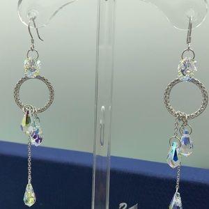 🔥🔥s925 sterling silver Crystal earrings